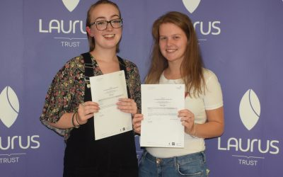Students celebrate CHHS's best A-Level results ever