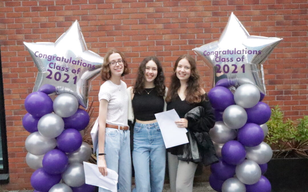 Congratulations to our A level Class of 2021!