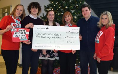 Sixth Formers raise hundreds for charity in memory of Luke