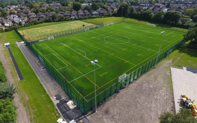 The 3G sports pitches are now complete and ready for use