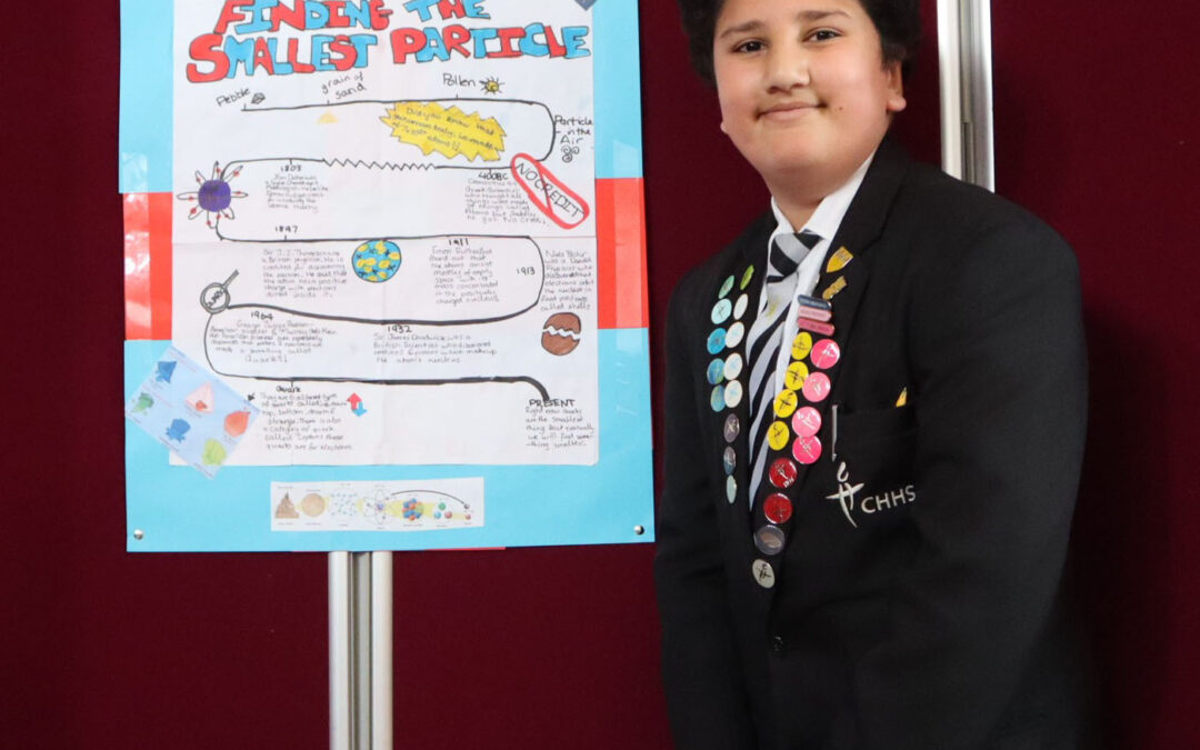 Science Poster Fair goes with a bang
