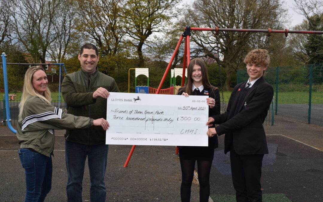School fundraises for Thorn Grove Park